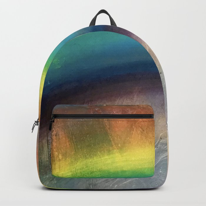 Rainbow Painting Backpack
