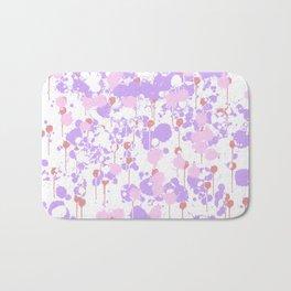 Lavender Splatter Bath Mat