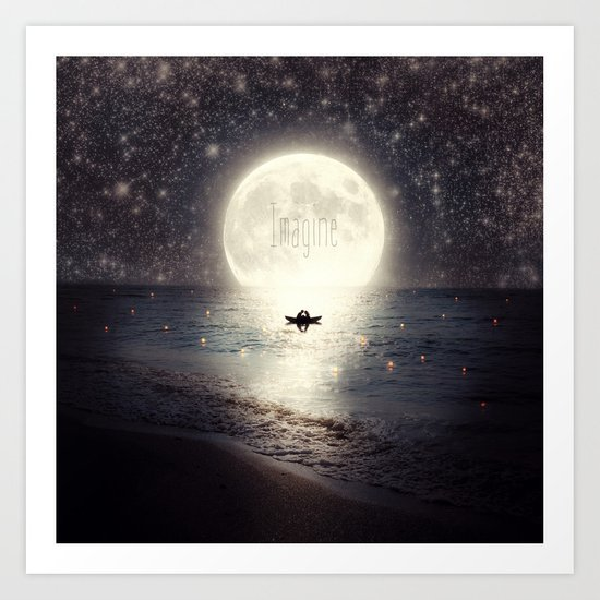 Imagine - Second Date  Art Print