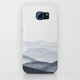 Watercolor Mountains iPhone Case