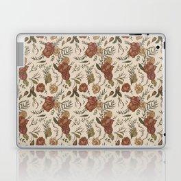 Antique Floral Pattern Laptop & iPad Skin