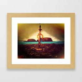 Life Saver Framed Art Print