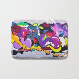 graffiti art Bath Mat
