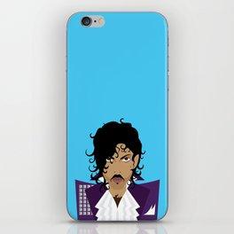 The Emoji-fication of His Purple Majesty: The Purple One iPhone Skin