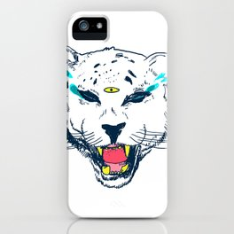 leopard tears iPhone Case