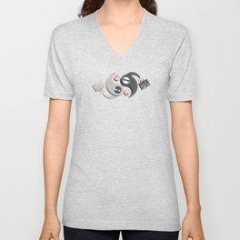 Yin and Yang Unisex V-Neck