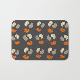 modern shapes pattern | line shapes illustration | cute shapes design Bath Mat