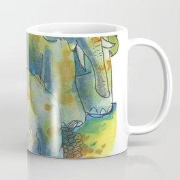 elephants in africa Coffee Mug