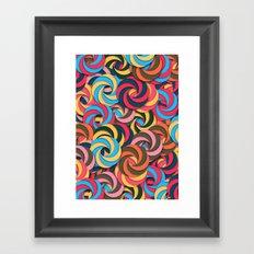 Keep It Healthy Framed Art Print