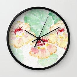 Summer Blush Wall Clock