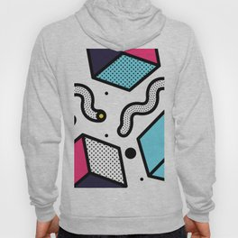 Memphis Pop-art Pattern II Hoody