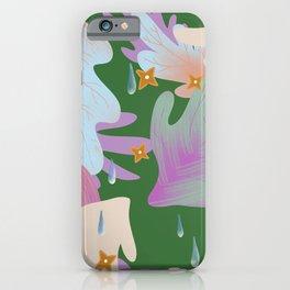 Spring shower iPhone Case