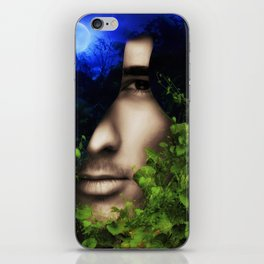 When He looked into Paradise - It was Midnight Fx  iPhone Skin