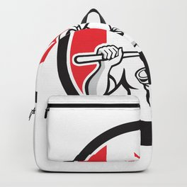 Canadian Drainlayer Canada Flag Icon Backpack