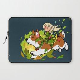 Corgi and Fairy Laptop Sleeve