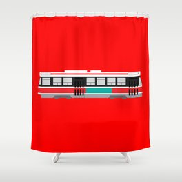 Toronto TTC Streetcar Shower Curtain