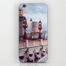 Pont Alexandre III Paris. iPhone Skin