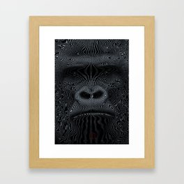 Did You See the Gorilla Framed Art Print