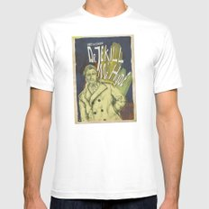 Dr. Jekyll & MrHyde Mens Fitted Tee MEDIUM White