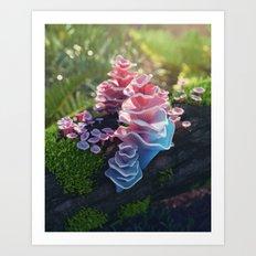Pagoda Fungus Art Print