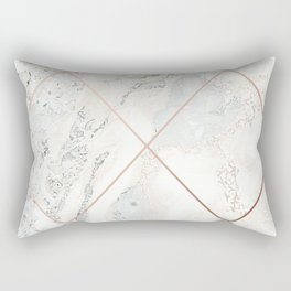 Copper & Marble 01 Rectangular Pillow