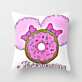 ThePinkoning Throw Pillow