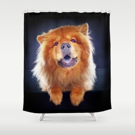 Super Pets Series 1 - Super Chow Shower Curtain