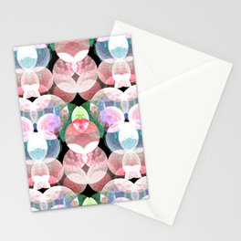 deepsea pattern  Stationery Cards