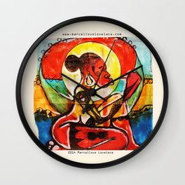 2014 SHE IS Tefnut OF NATURE  Wall Clock