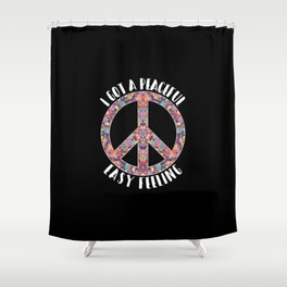 Peaceful Easy Feeling | Hippie Peace Love Gifts Shower Curtain
