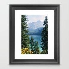 Eibsee #2 Framed Art Print