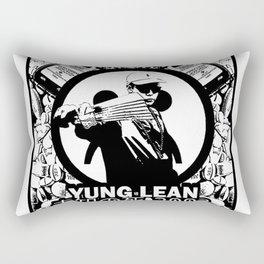 Yung Lean - Stackin it Rectangular Pillow