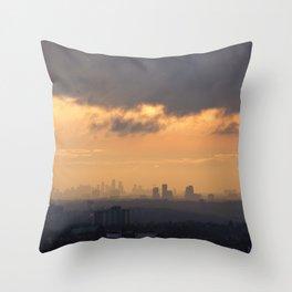 City Sky. Throw Pillow