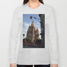 church san Miguel de allende Long Sleeve T-shirt