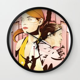 La La Nights Wall Clock