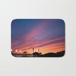 Sunset Over PNC Park Bath Mat