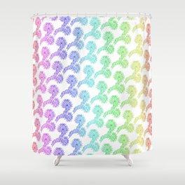 Joshua Tree Arco Iris by CREYES Shower Curtain