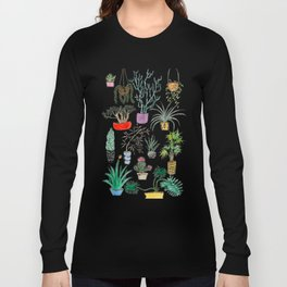 Houseplants Long Sleeve T-shirt