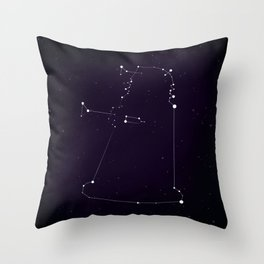 I see Daleks in Stars Throw Pillow