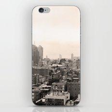 Lower East Side Skyline #1 iPhone Skin