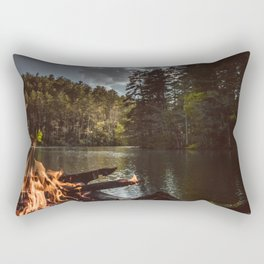 Shoreline Campfire Rectangular Pillow