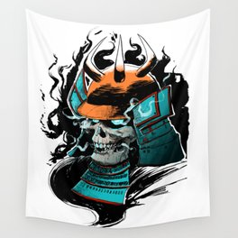 Fear the Oni Wall Tapestry
