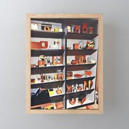 My oh my what is on the shelf?  Framed Mini Art Print