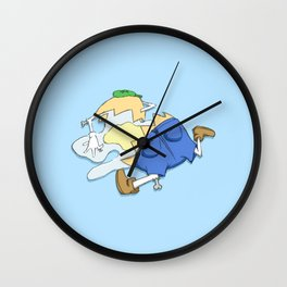 Beyond Repair Dumpty Wall Clock