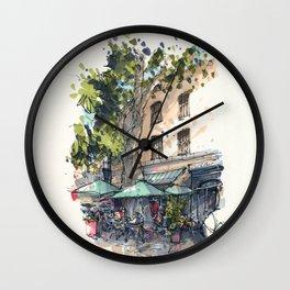 Chez Janine et Roger Wall Clock