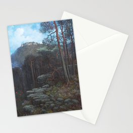 Gustave Dore - Mont Sainte-Odile with Pagan Wall Stationery Cards
