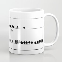 Notes on the Wires Coffee Mug