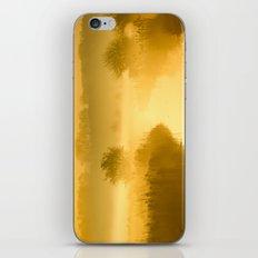 Mist of Gold iPhone & iPod Skin