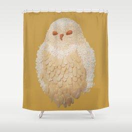 Owlmond 3 Shower Curtain