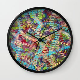 Intricately Connected Wall Clock